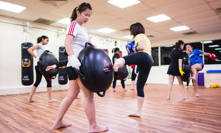 active zone women only kickboxing singapore